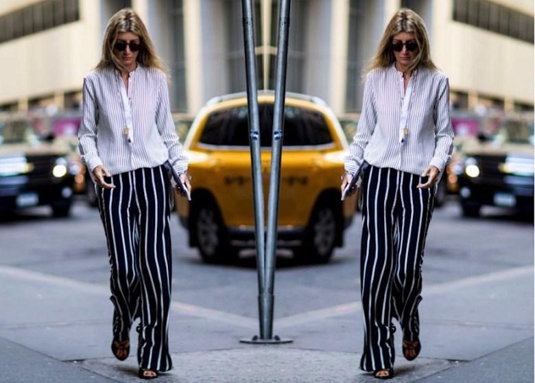 listras diferentes, mistura de estampa, truque de estilo, moda, estilo, street style, fashion, style, styling trick, different stripes, mix of prints