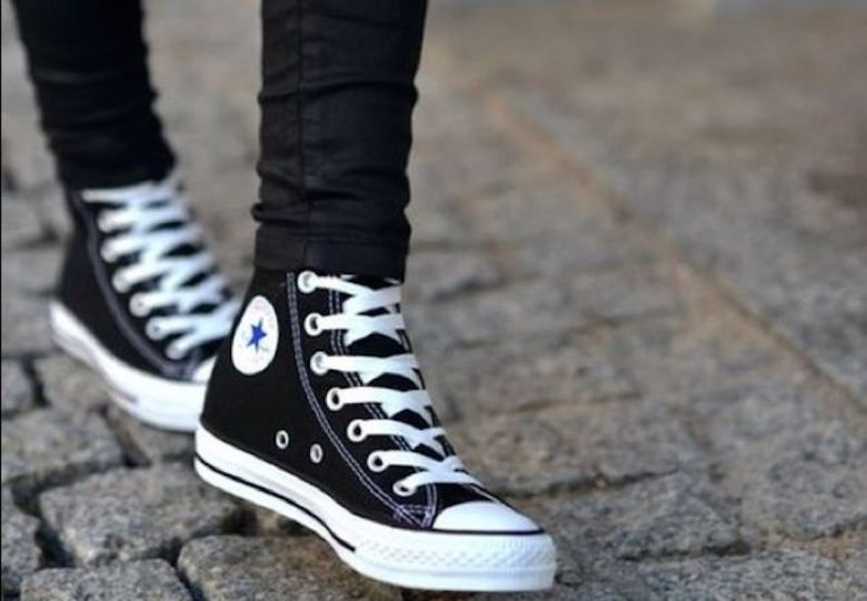 all star chuck taylor cano longo, tênis, look, moda, estilo, fashion, style, outfit, high top all star