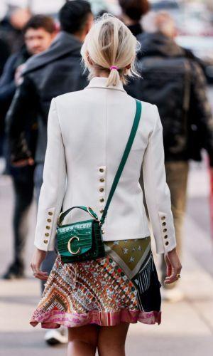 chloé c bag, street style, it bag, trend, fashion, style, moda, estilo, tendência, bolsa, looks, xenia adonts