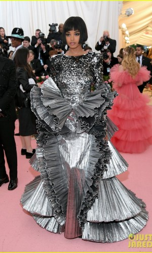 MET Gala 2019, Baile do Met, moda, estilo, celebridades, looks, Camp, fashion, style, red carpet, ella balinska