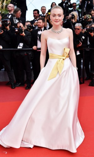 elle fanning at the 2019 cannes film festival red carpet
