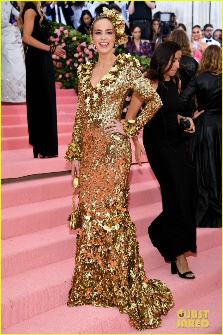 MET Gala 2019, Baile do Met, moda, estilo, celebridades, looks, Camp, fashion, style, red carpet, emily blunt