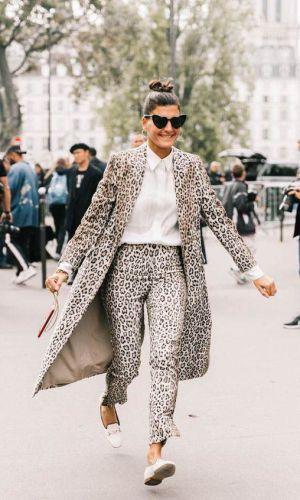 calça de onça, looks, moda, como usar, estilo, inspiração de moda, styling, fashion, style, leopard pants, animal print, how to wear, giovanna battaglia