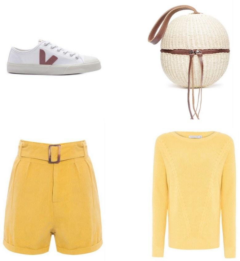 bolsa de palha, straw bag, casual outfit