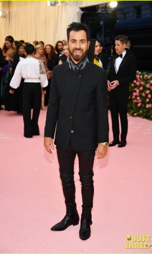 MET Gala 2019, Baile do Met, moda, estilo, celebridades, looks, Camp, fashion, style, red carpet, justin theroux
