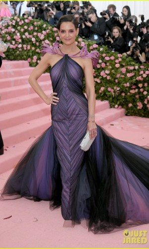 MET Gala 2019, Baile do Met, moda, estilo, celebridades, looks, Camp, fashion, style, red carpet, katie holmes