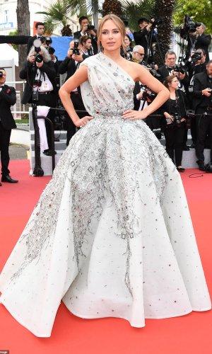 kimberley garner at the 2019 cannes film festival red carpet