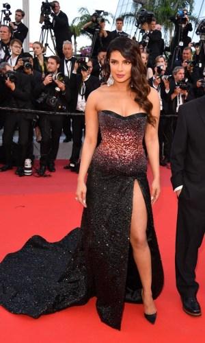 priyanka chopra at the 2019 cannes film festival red carpet