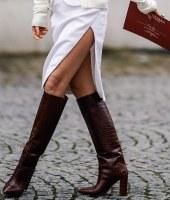 bota de cano longo, tendência, trend, knee-high boots