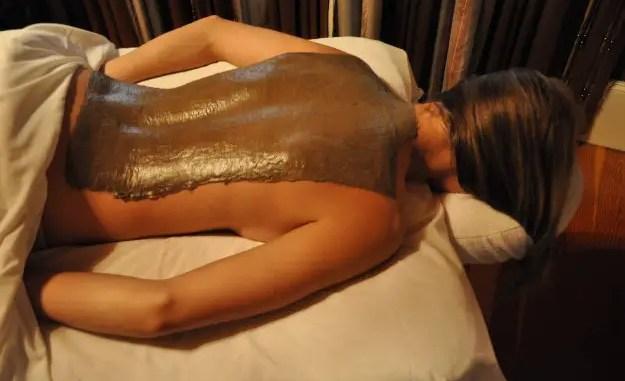 Tratamiento con el uso del barro