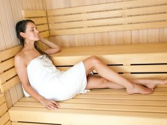 Tomar una sesión de sauna