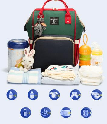 Power Mummy Baby Bag. Diaper Bag (4) - gabino gabs