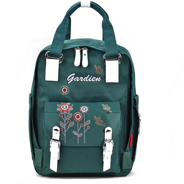 Floral Flora Stylish Diaper Bag for Mums in Nigeria green color