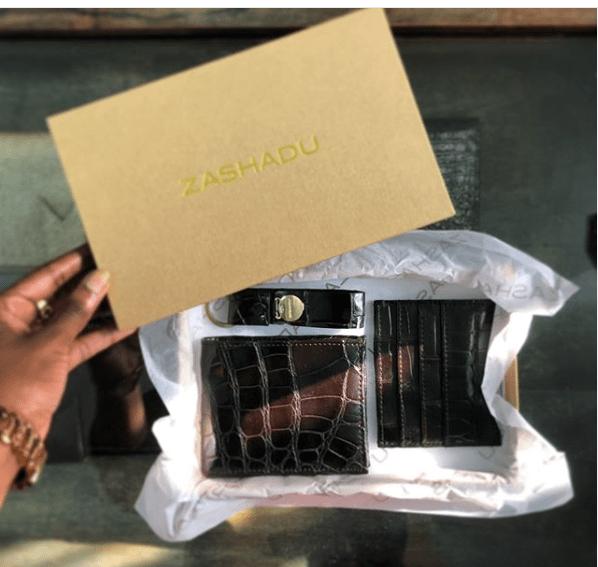 zashadu  exotic leather wallets, zashadu bags