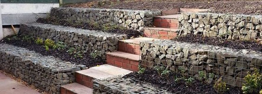 Garden Block Wall Ideas interlocking concrete block retaining wall Garden Stone Wall Design