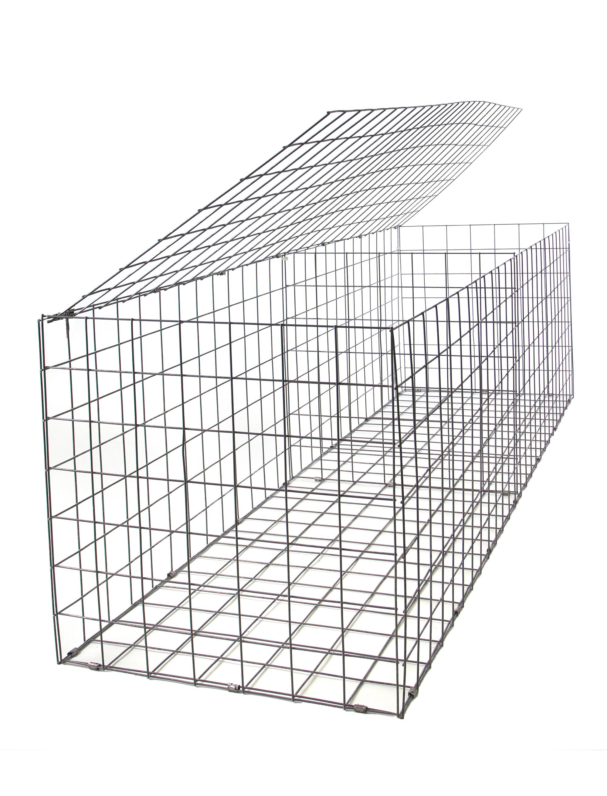 Gabion Galfan 3mm 2m X 0 5m X 0 5m Gabion Cages