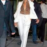 Tuxedo alb pentru femei