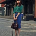 Fusta de jeans – manevra vestimentara de toamna