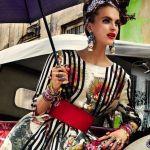 Carmen Miranda Reloaded - Vogue Brazilia - culori tari si accesorii vesele, neaparat cu flori si fructe