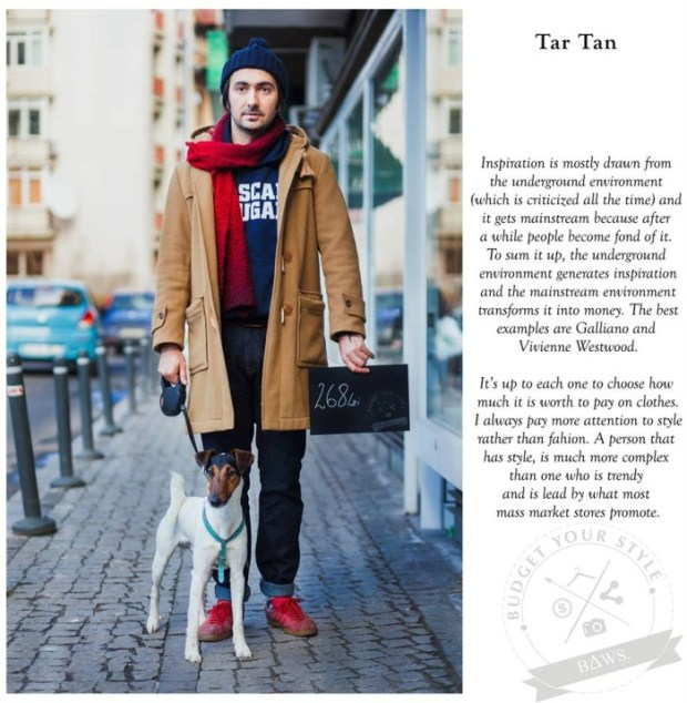 Budget your style Alex Chitu
