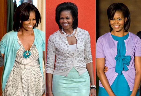 Michelle Obama si una din piesele de rezistenta ale stilul sau – jacheta cu nasturi