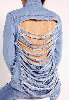Cum iti restilizezi veche geaca de jeans