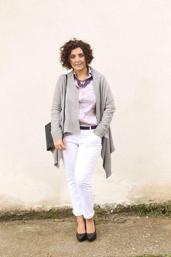 Jeans alb – manevra vestimentara de vara