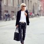 Pantalonii din piele – manevra vestimentara de toamna