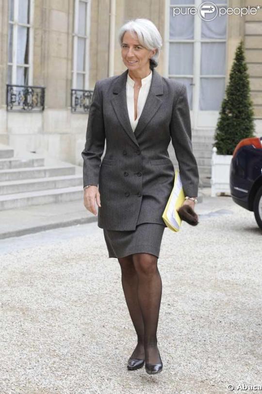 Christine Lagarde- sefa FMI