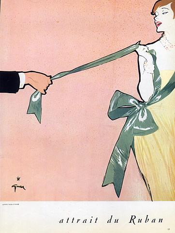 Ilustratie Rene Gruau 1950