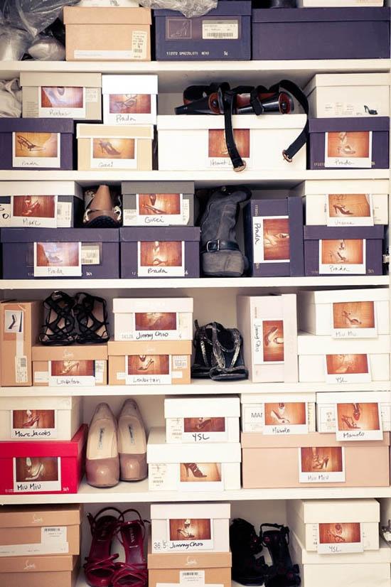 Cutii de depozitat pantofi si diverse alte lucruri