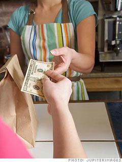 Banii pe care ii simti tactil, constientizezi pe ce ii cheltuiesti