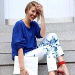 Pantaloni imprimati – manevra vestimentara de primavara