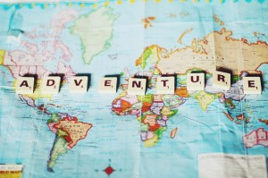 Baby, let's be adventurers!