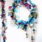 Deco-eco: Decoratiuni de iarna din haine vechi