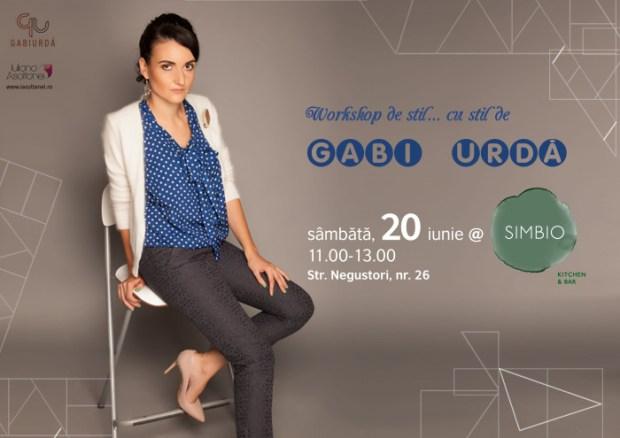Workshop scurt (si eficient) de stil de Gabi Urda 20 iunie Simbio