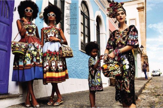 Carmen Miranda Reloaded – Vogue Brazilia, bratarile sa le pui pe tine si tot parca ziua ti se deschide inainte
