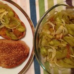 Salata de toamna cu gogonele coapte si ceapa