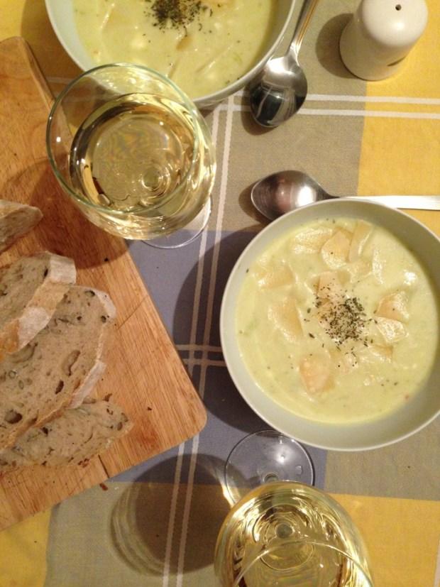 Supa crema vichyssoise