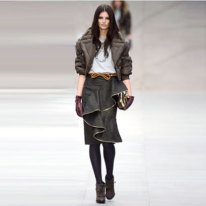 Burberry si gecile din fas fancy