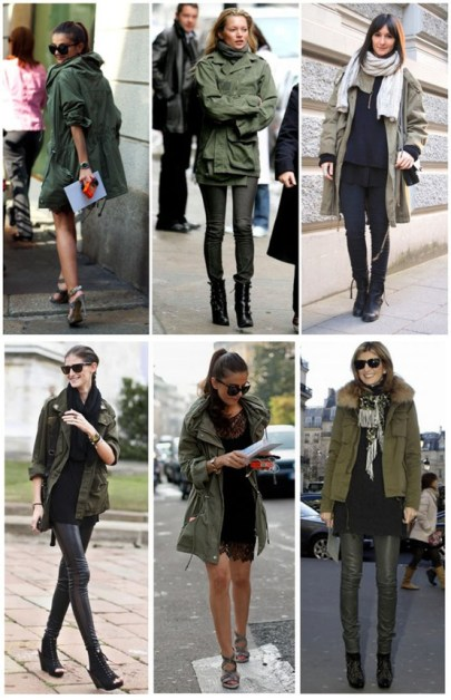 Jacheta parka in multe variante de purtare, buna purtare