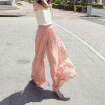 Fusta pantalon – manevra vestimentara de vara
