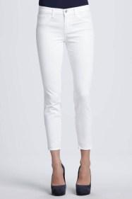Jeansi albi...de vara!