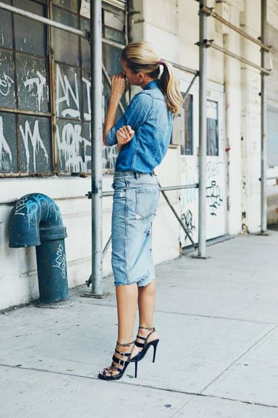 Denim on denim - reguli de buna purtare
