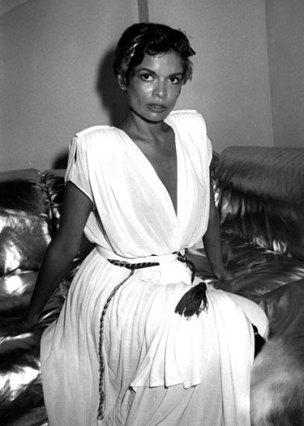 Credit: Harpers Bazaar, Bianca Jagger 1980