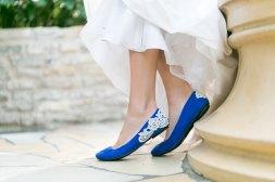 Un exemplu de balerini chic si originali pentru petrecerea de nunta!