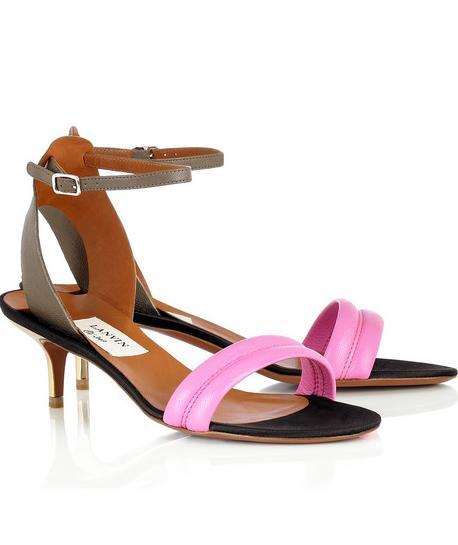 Sandale Lanvin kitten heels