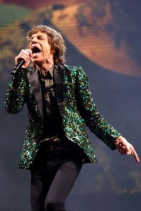 Mick Jagger in Vogue