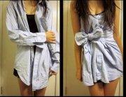 Cum sa-ti creezi o fusta din camasa lui oversized!