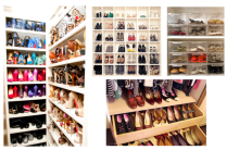 Mai multe metode a-ti organiza pantofii